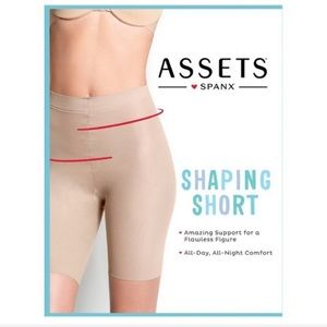 Spanx Assets nude shaping short